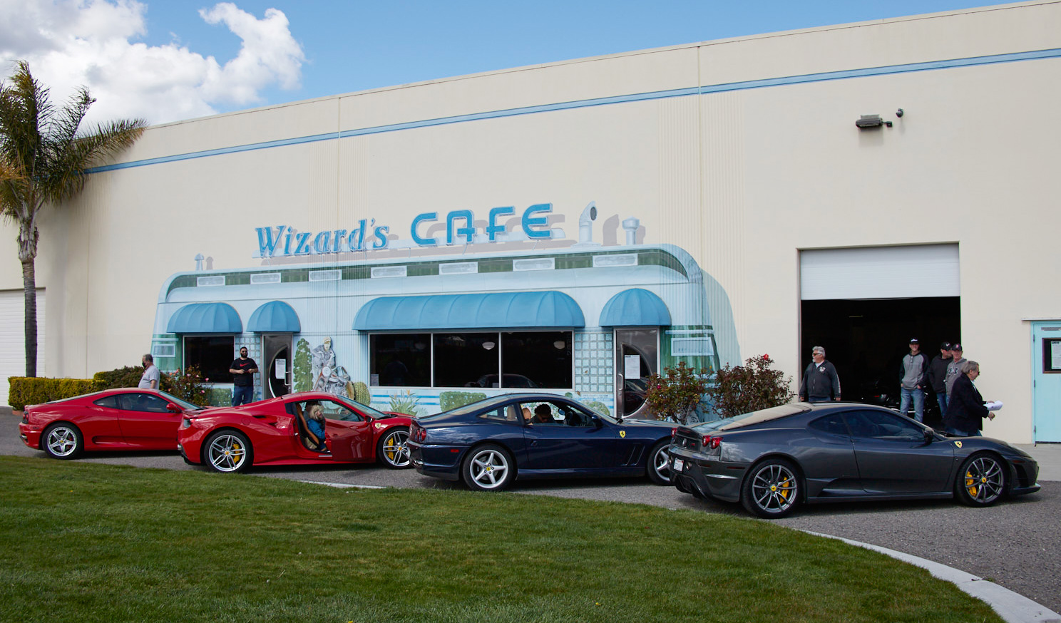 Saturday Wizard's Cafe