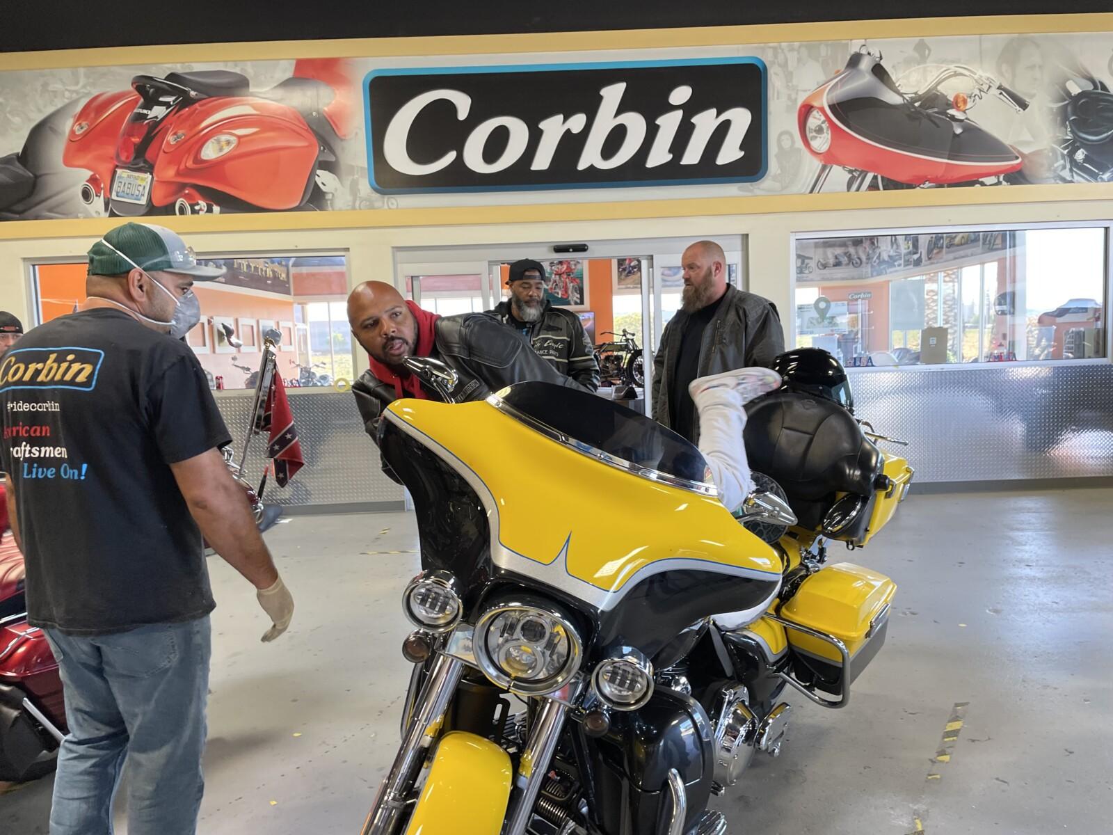 Corbin Ride-In Workshop