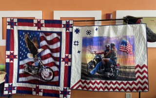 Quilts Being Raffled