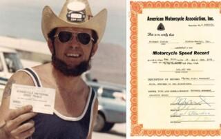 Mike Corbin speed record