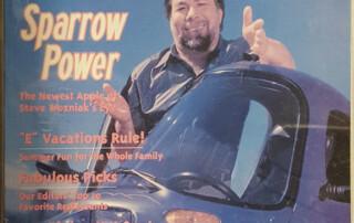 Steve Woz and the Sparrow