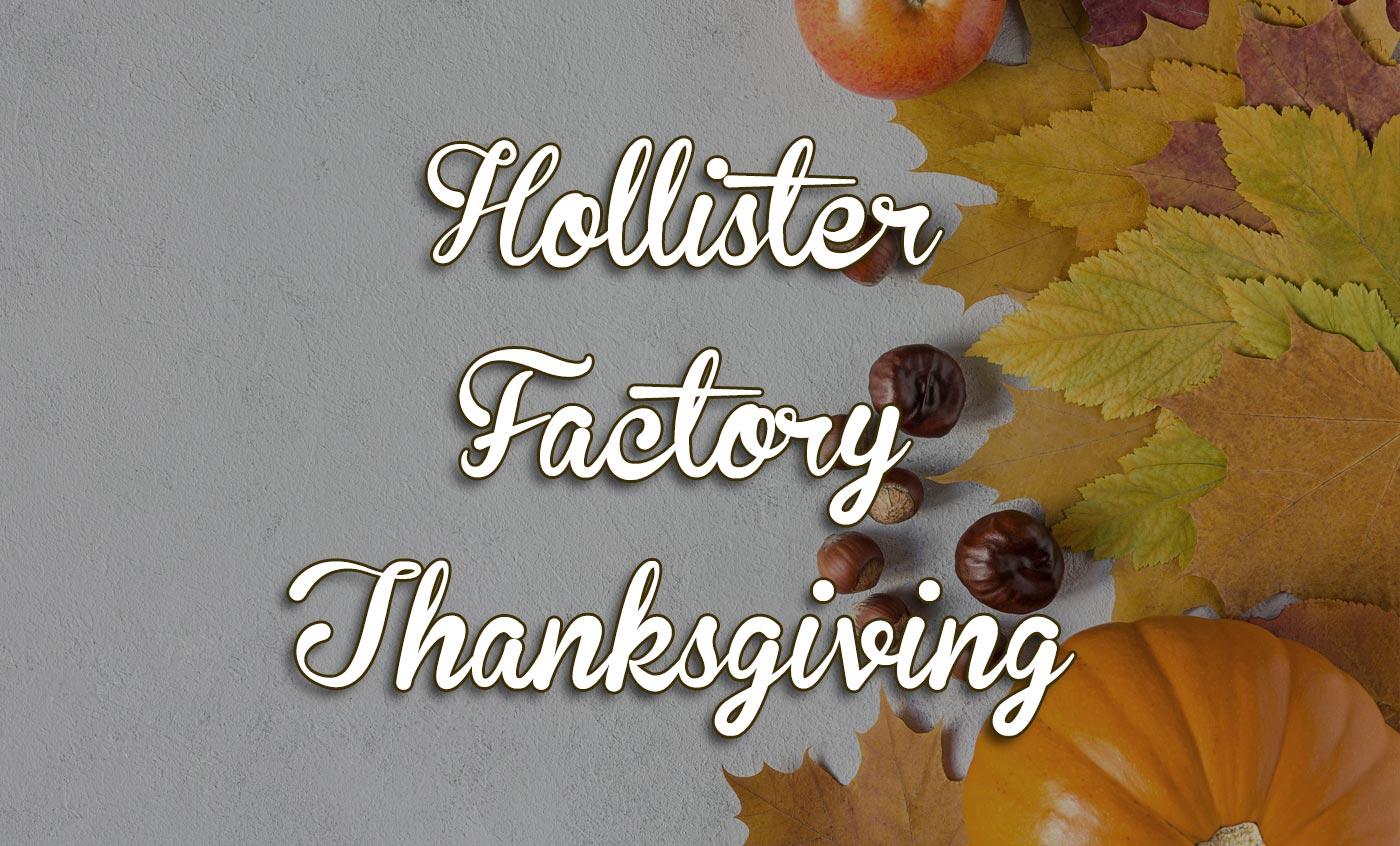 Thanksgiving Hollister