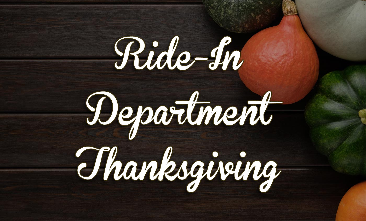 Thanksgiving Ride-Ins